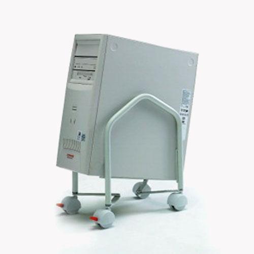 CPU computer trolley. CPU trolley. Computer trolley. Computer holder. CPU desk mount. Computer desk mount. CPU mounting. Computer mounting.